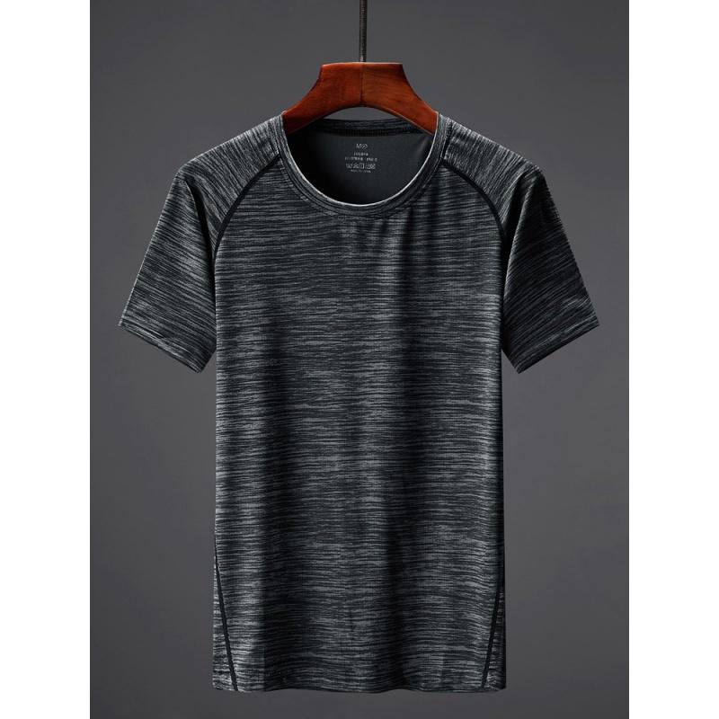 夏季衫圆领户外运动跑步T恤男士速干衣女短袖情侣健身速乾衣包邮
