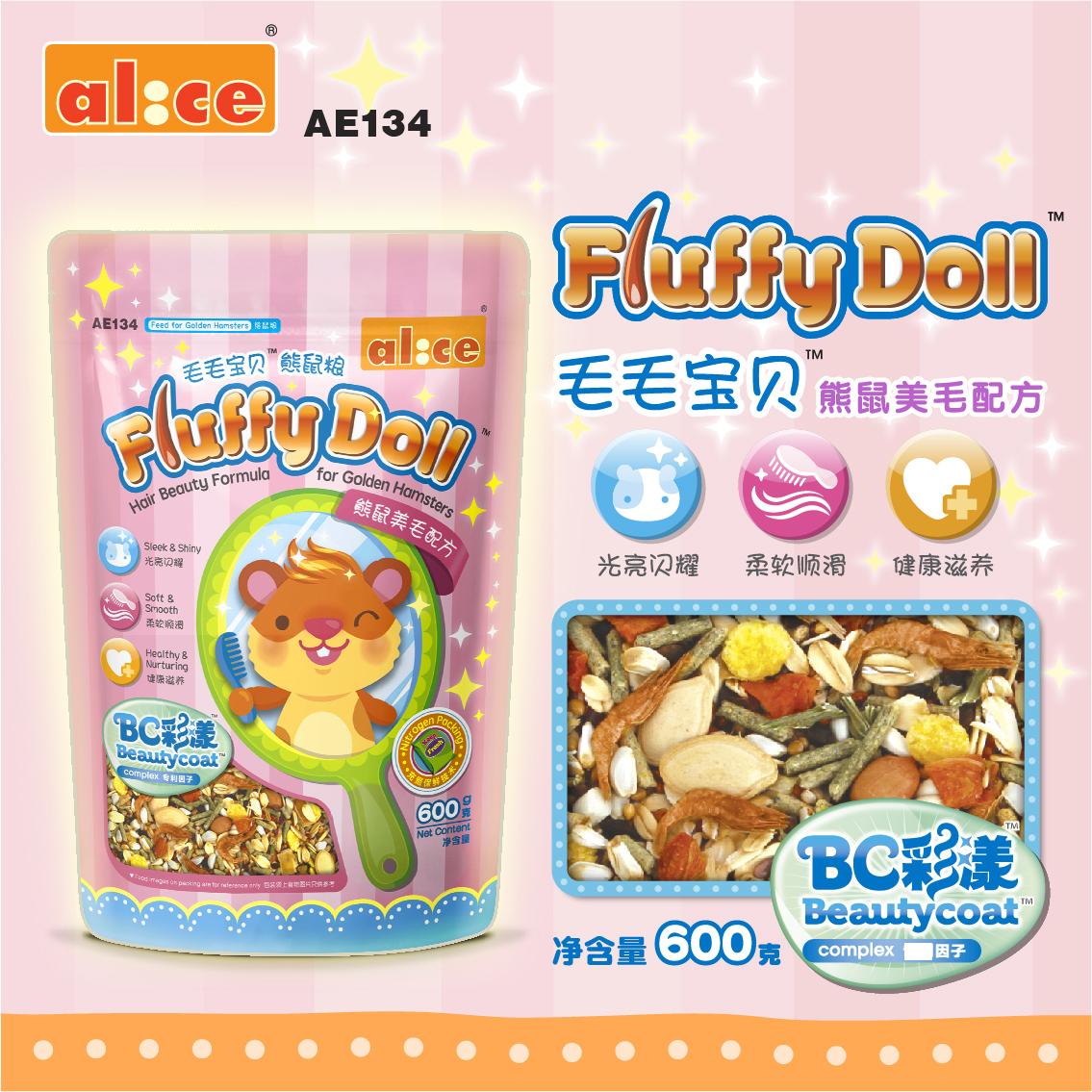 [兔兔窝总店饲料,零食]Alice 艾妮斯美毛金丝熊粮600yabo228811件仅售43元