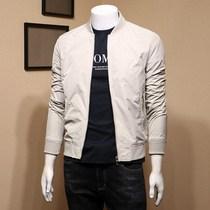 男士春秋季2020年新款韩版男装潮流青年修身帅气休闲百搭夹克外套