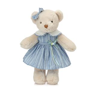 正版毛绒玩具泰迪熊公仔可爱裙装小熊公仔布娃娃生日礼物 女孩