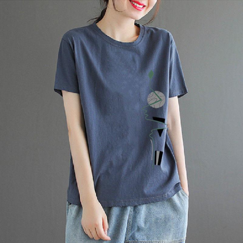 短袖2021年新款女装夏装纯棉t恤