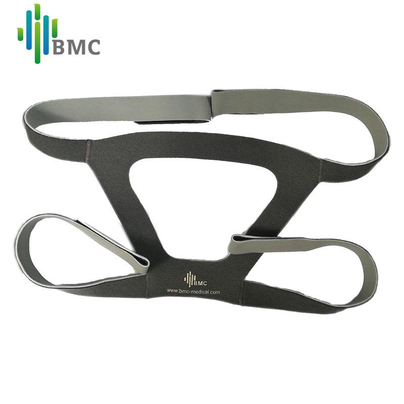 リメット呼吸機のマスクは、一般的なヘッドバンドで、口と鼻のバンドバンドは、四角い頭に装着されています。