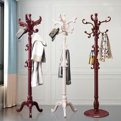 实木衣帽架落地卧室挂衣架家用简易挂包架凉客厅门厅挂衣服的架子
