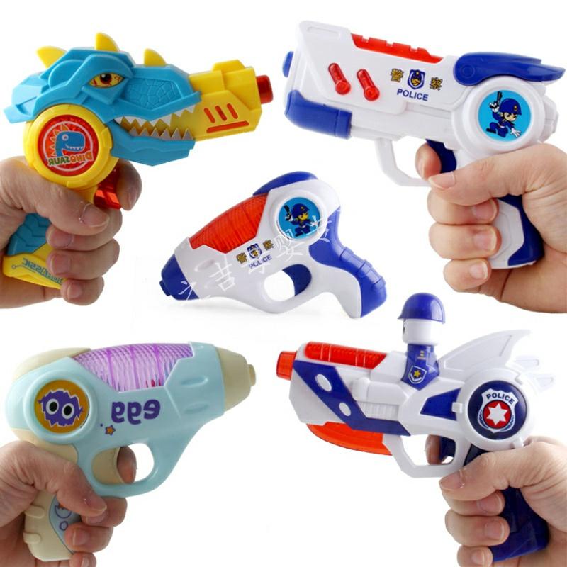 儿童宝宝玩具枪警察手抢小男孩子婴幼儿礼物投影耐摔电动声光音乐,可领取1元天猫优惠券