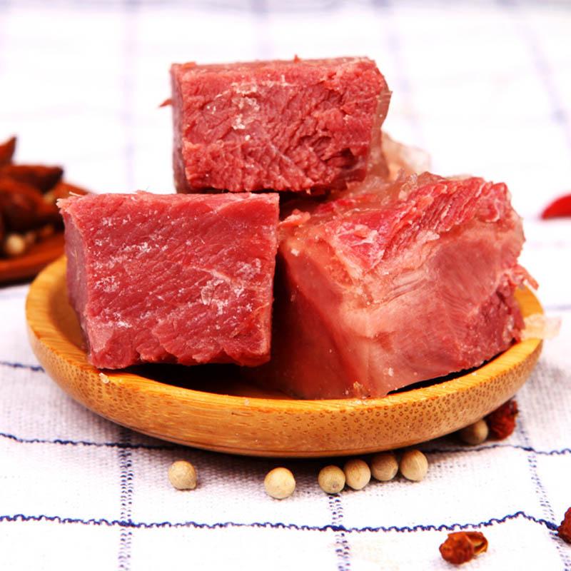 平遥牛肉冠云一口香258g卤味原味美食小吃山西特产零食小包装真空