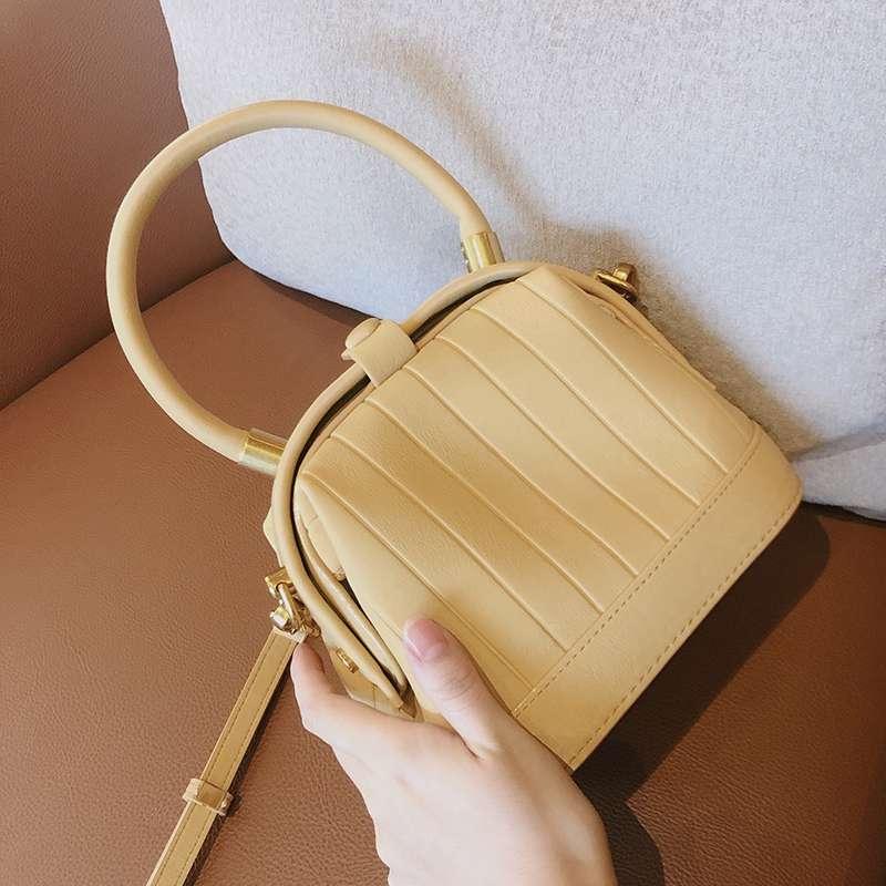 Ur Doctor Bag 2020 new fashion this years popular bag popular one shoulder womens versatile yellow messenger bag