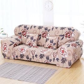 老式皮沙发套全包万能套罩布全盖懒人网红单双三人通用型123组合