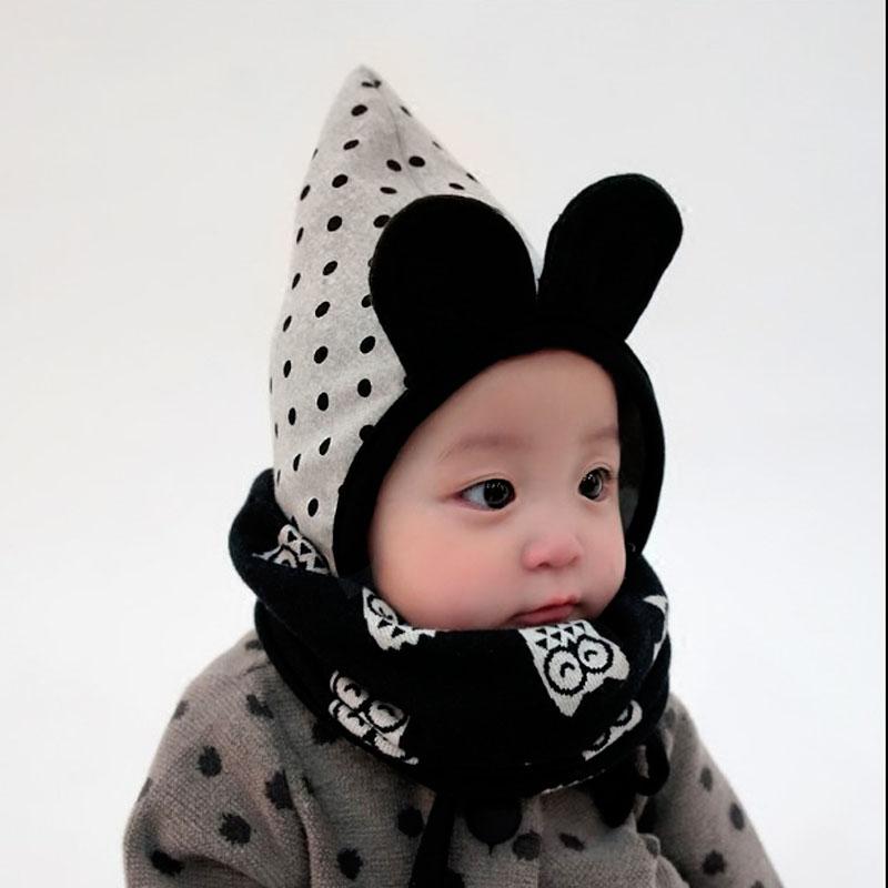 婴儿围巾秋冬季婴幼儿男女宝宝围脖套头纯棉新生儿可爱春秋薄保暖淘宝优惠券