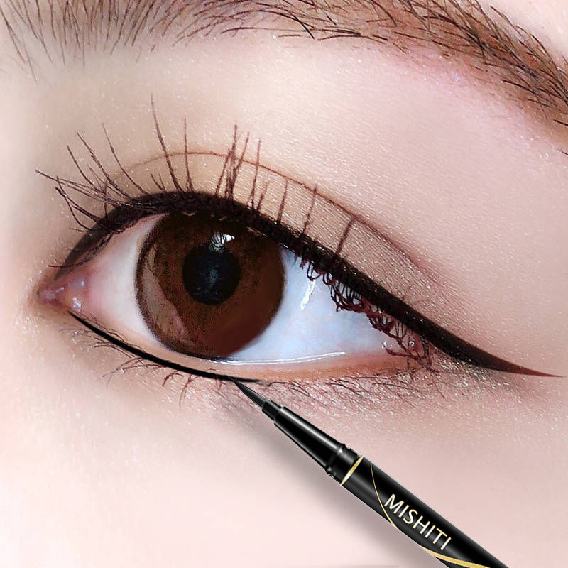 Fine wool bead eye liner pencil waterproof, sweat proof, long lasting no eye liner.