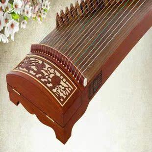 包邮送全套配件实木古筝考级演奏乐器黑檀初学古筝