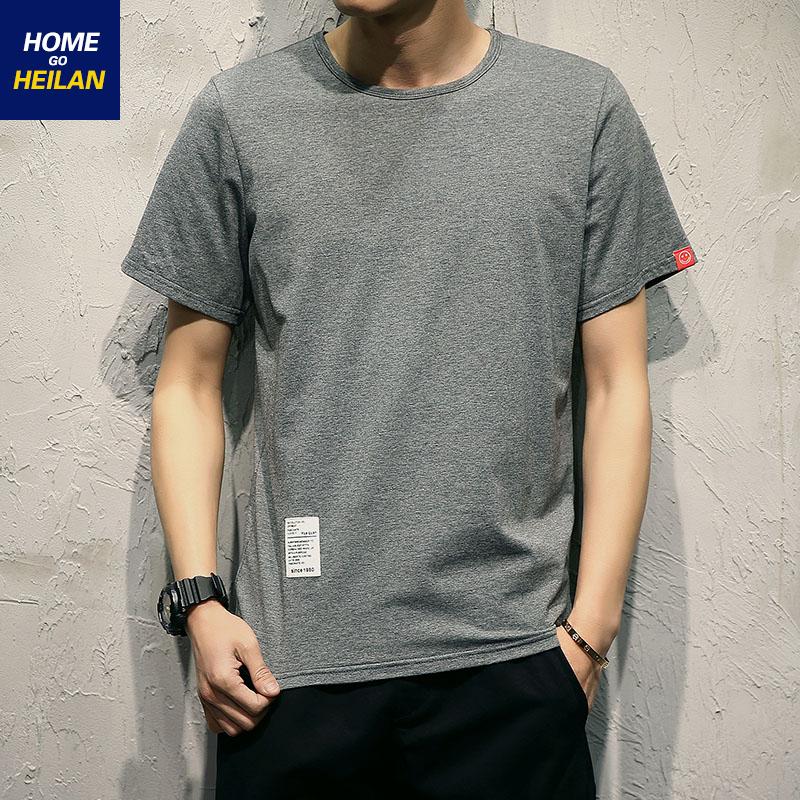 home go heilan夏季纯色休闲t恤(非品牌)