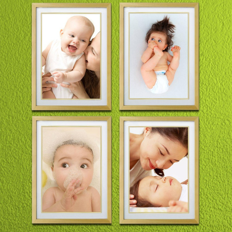 。可爱宝宝装饰画婴幼儿壁画哺乳妈妈月子中心母婴店亲子挂画三竖