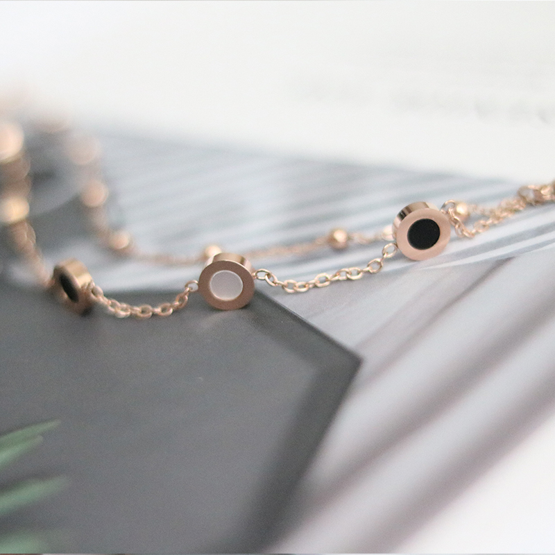 ? Small ornament story Fritillaria Bracelet female Korean version minority design jewelry birthday gift bracelet for girlfriend