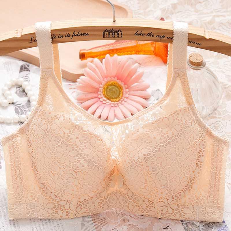 抹胸大码文胸超薄大胸性感内衣薄款夏季女防走光聚拢裹胸式胸罩