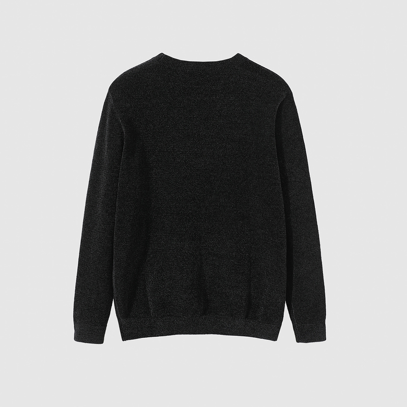 /Long sleeved round neck sweater new fall 2020 chenille fluffy warm Pullover Sweater men