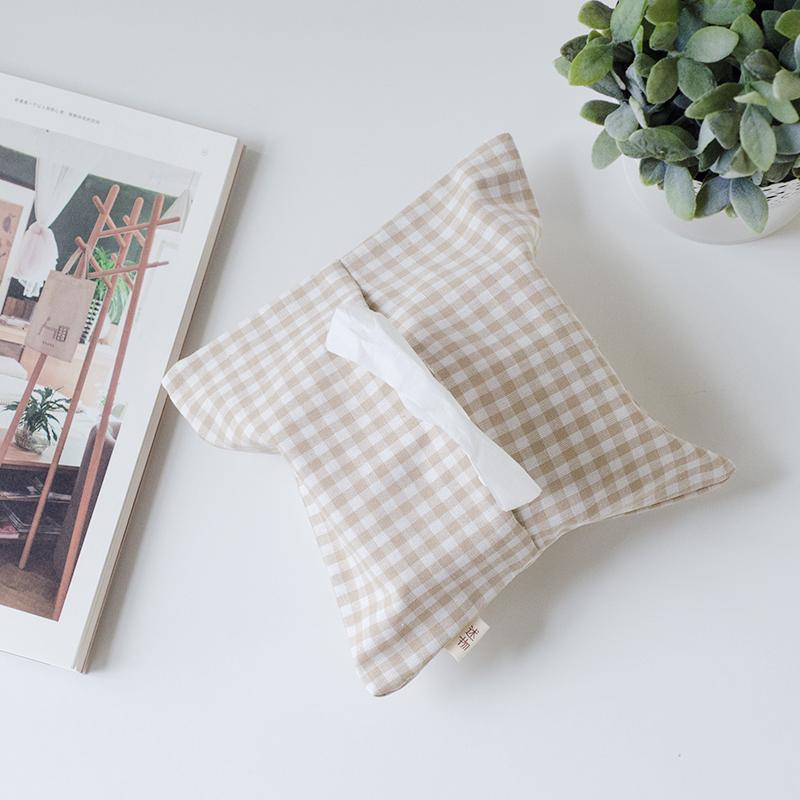 Государственный вещь оригинал японский ткань хлопок бумажные полотенца мешок насосные полотенце пакет творческий ткань насосные коробка автомобиль бумажные полотенца крышка