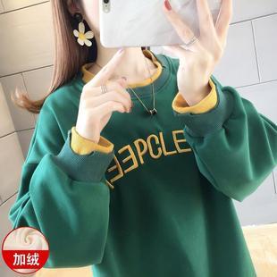 2019年新款秋冬学生韩版bf加厚卫衣