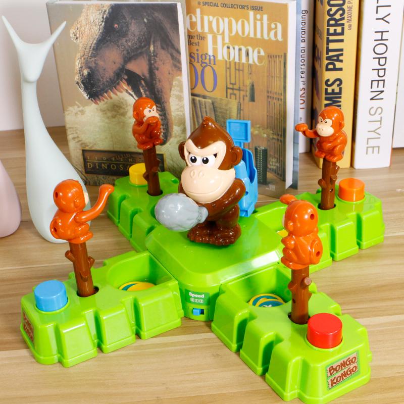 儿童益智玩具夺宝侯兵玩具猴子骑兵偷香蕉猩猩打金币桌面游戏