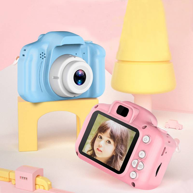 Childrens camera digital 20 million photo toys 1600 cartoon baby boys and girls birthday gifts