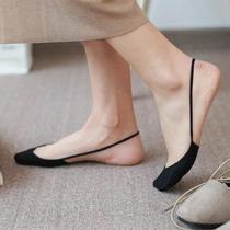 袜子船头袜子女半包袜细带薄款短袜丝袜截带包单打底袜美腿袜