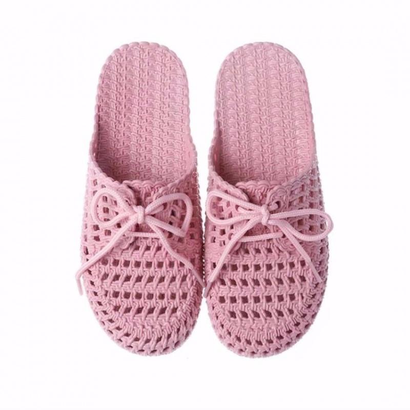 热销3件正品保证新款夏季包头平底洞洞鞋居家室内外凉拖鞋女懒人时尚学生沙滩拖