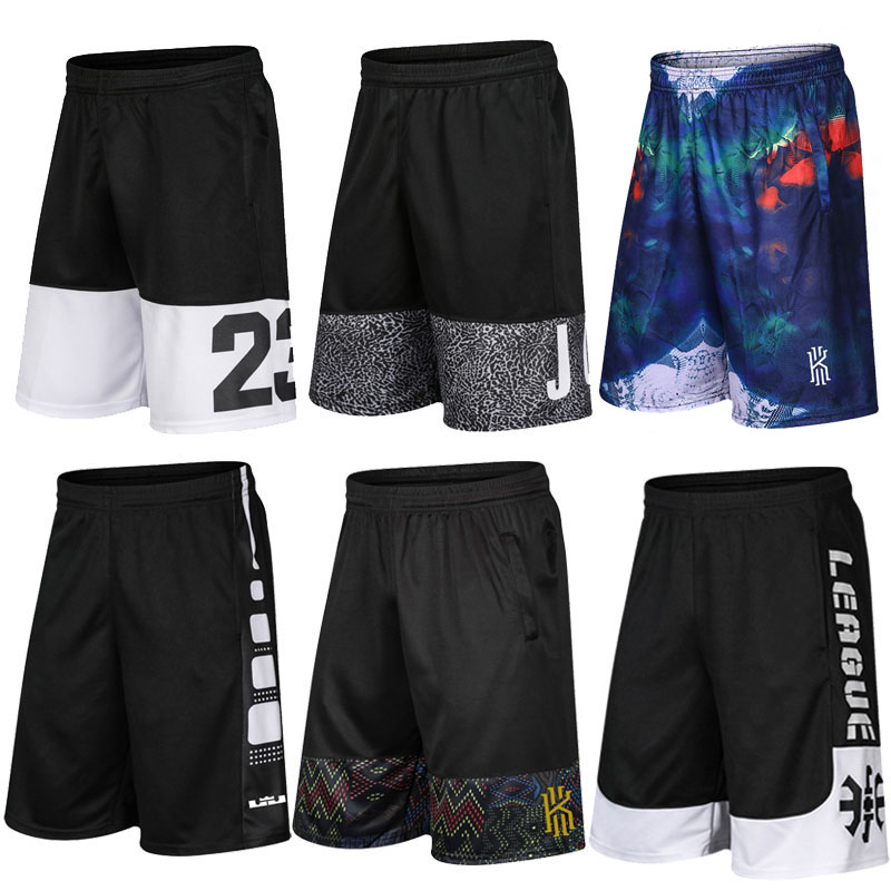 ? James basketball pants knee length Capris KD mens summer quick dry Breathable running fitness training sports shorts