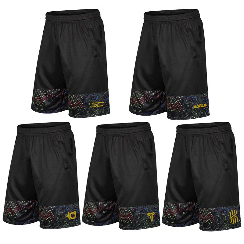 ? Irving Kobe Kuri KD knee basketball pants quick drying breathable fitness running Capris James sport