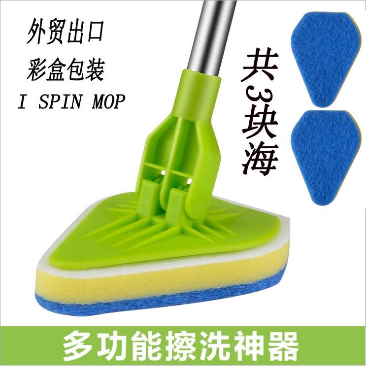 长柄地板刷硬毛百洁布刷子浴室刷浴缸刷卫生间地刷瓷砖地砖清洁刷