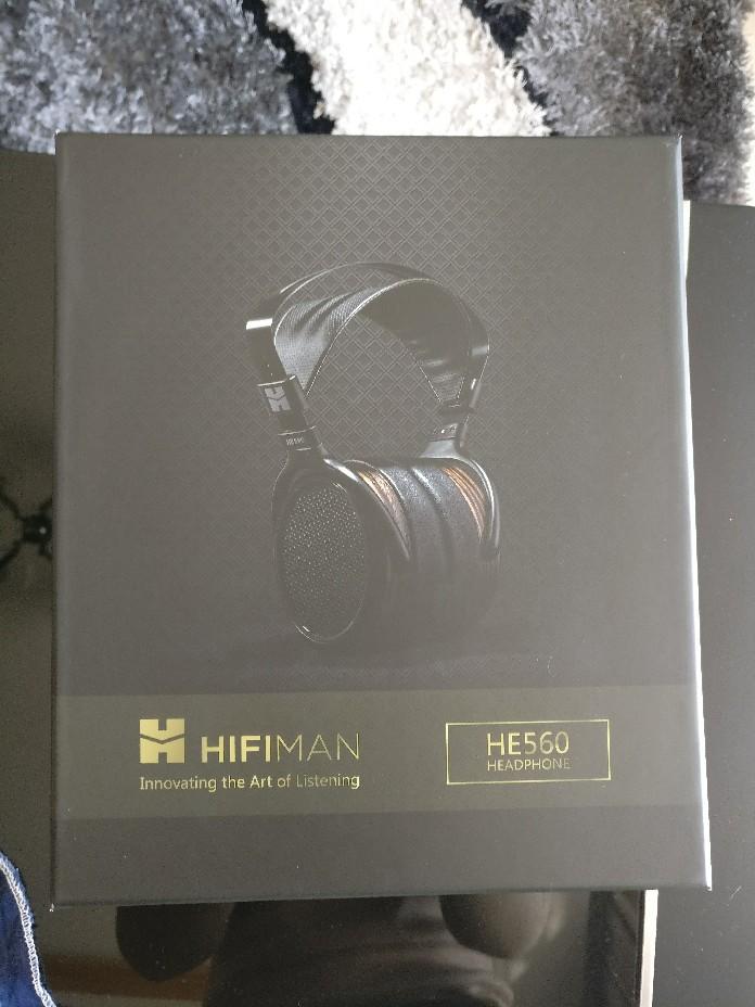 现货!全新美行Hifiman HE-560高端旗舰动圈平板耳机头戴式大耳V3