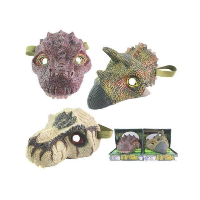 Cute role play children props dinosaur mask small dinosaur mask children model mask headdress