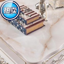 茶几台u面单买天然大理石圆桌面面板餐桌转盘圆人造石材长方形家