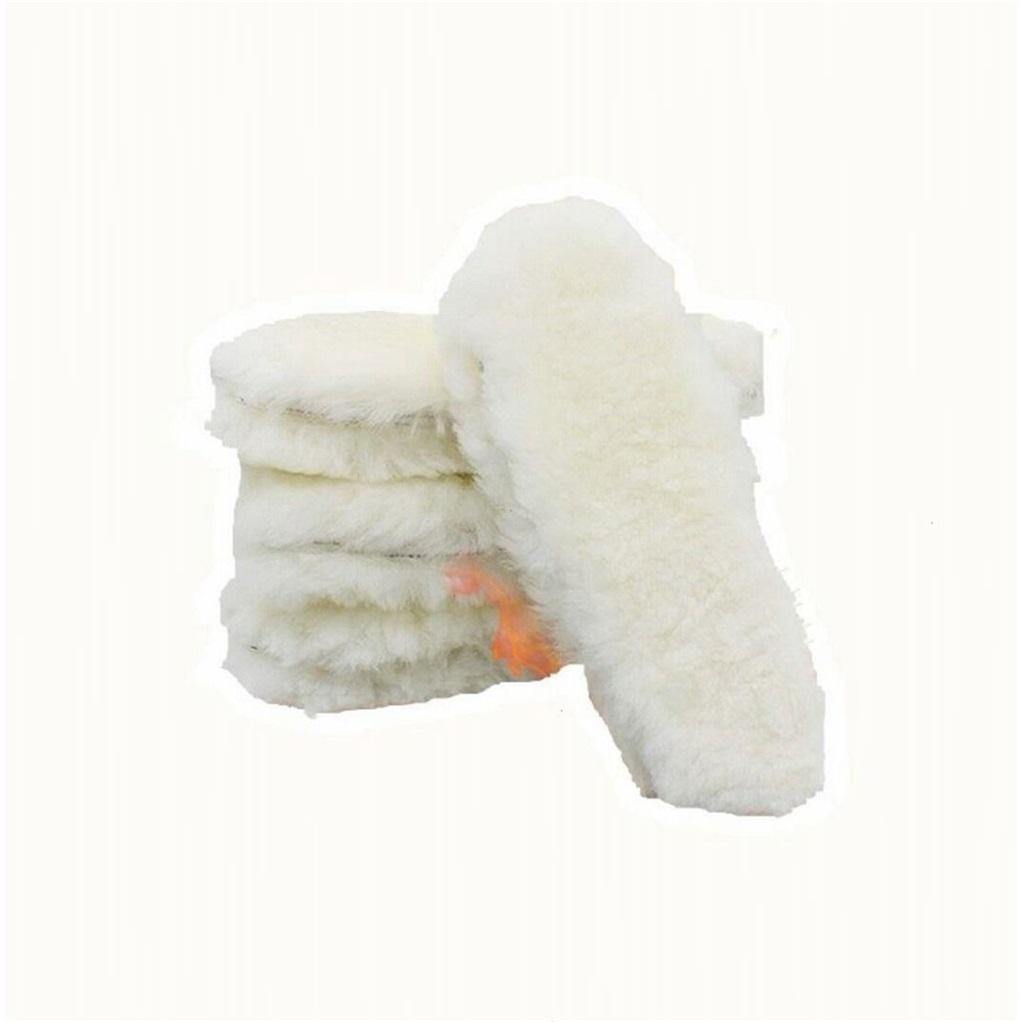 厂家羊毛鞋垫 冬季保暖加厚皮毛一体雪地靴鞋垫拍两双送一双