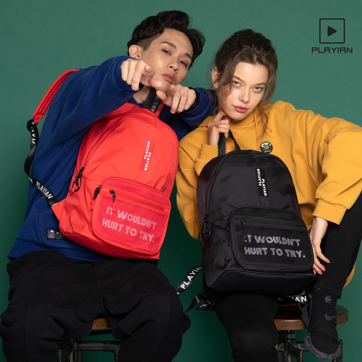 Korean backpack for high school and junior high school students