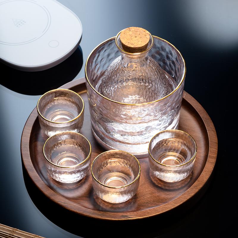 日式喝酒杯子酒壶清酒杯白酒杯烧酒杯果酒清酒米小梅子酒杯具果烫淘宝优惠券
