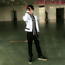 コスプレ衣装草薙京のキジ北京の王景KOF KOF服草薙京白のコートスタイル