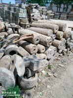 民间老旧石磨盘茶盘石磙牛槽茶盘景观流水组合猪食槽石雕石板石盆