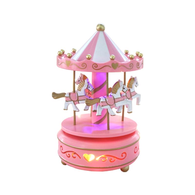 旋转音乐盒水晶球生日礼物八音盒限10000张券