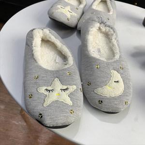 超可爱,内里加绒,女士居家棉鞋 保暖家用拖鞋A464