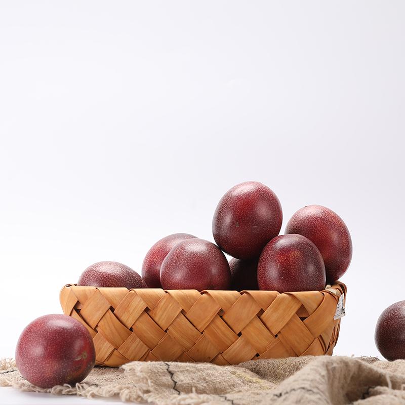 广西百香果热带水果新鲜现摘5斤装酸爽香甜西番莲鸡蛋中大果限1000张券