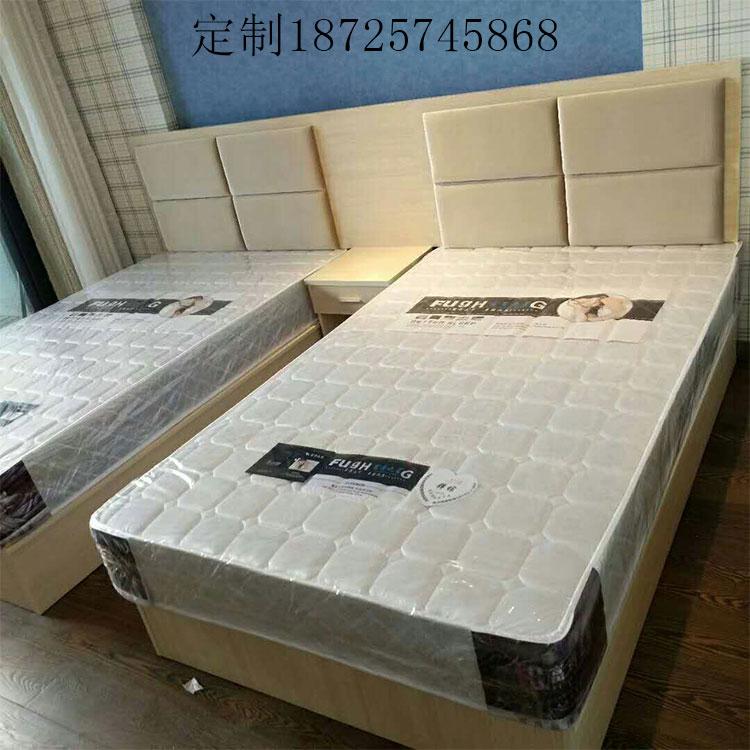 Быстро кровать мебели гостиницы полностью Обруч имеет выполненное на заказ в настоящее время поколение Кратко люди спят дом для приезжих стандартный Головка мягка пакет один Двуспальная кровать