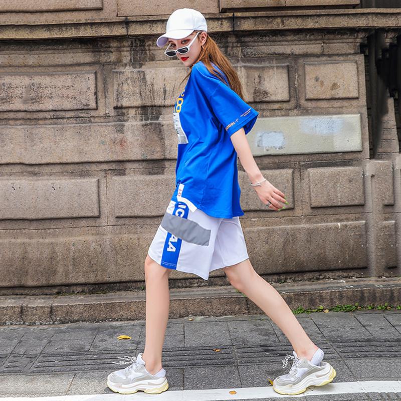 酷女孩穿搭时尚帅气bf风学生潮牌女券后89.00元