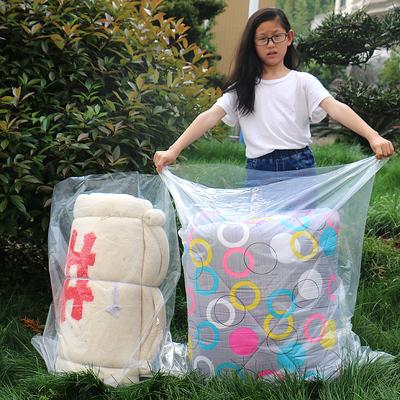 高压平口袋子pe大号加厚透明防潮被子收纳薄膜塑料包装内膜袋批发