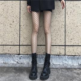 漁網襪JK黑絲襪女超薄款性感連褲襪子黑色ins潮蕾絲白色情趣辣妹圖片