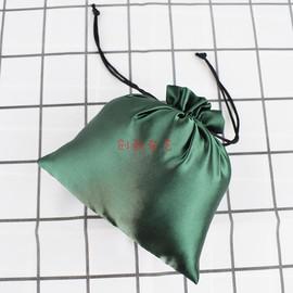 厂家定做丝绸布袋子抽绳袋纺绸束口袋衣服收纳袋整理袋礼品包装袋图片