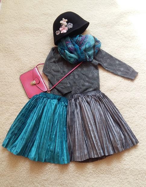 Высокое качество корейское волокно бархат плиссированный солнце юбка девочки элегантный юбка