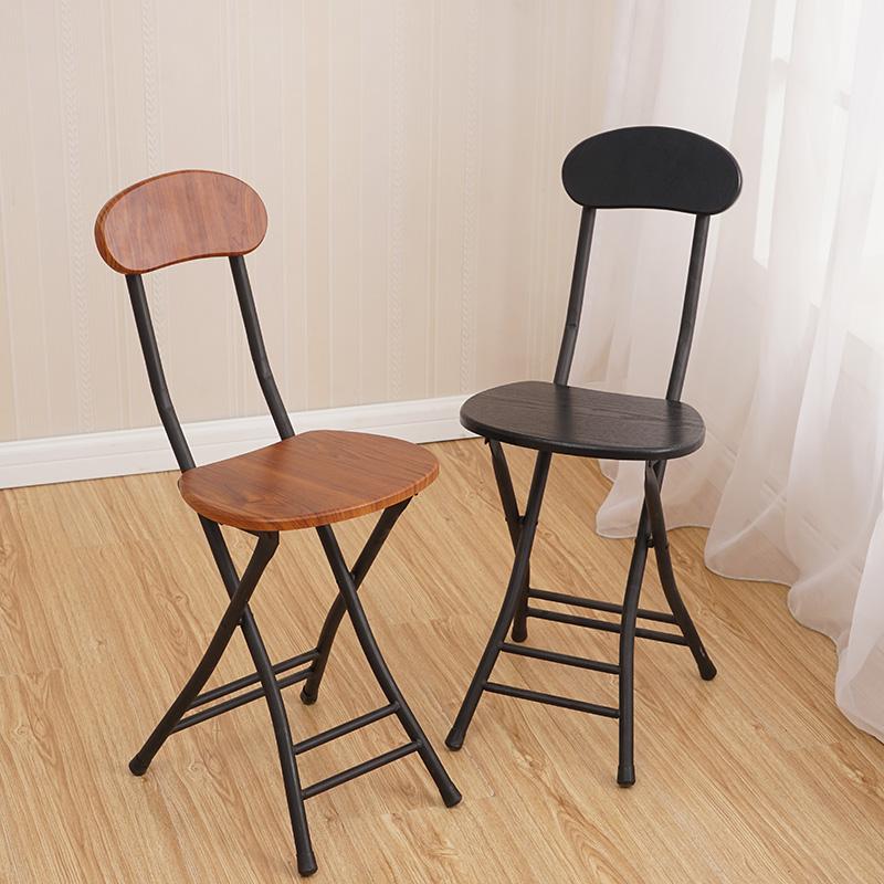 宜家折叠椅现代简约家用椅子成人餐椅培训椅宿舍便携阳台户外椅子