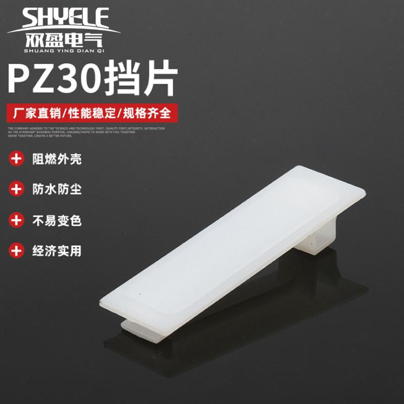 pz30配电箱档片塑料空白1p c45挡片