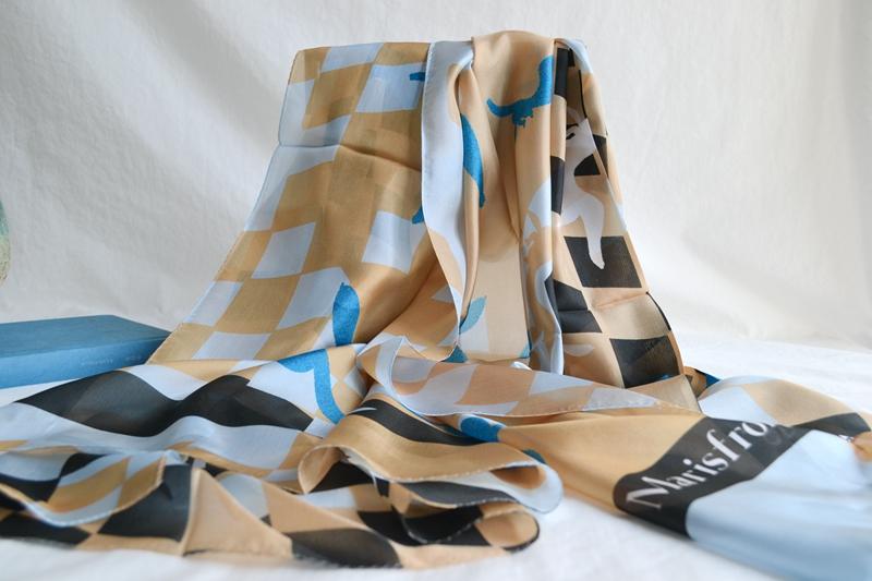 玛丝菲尔2020新款正品国内代购真丝巾围巾A2KT2212200吊牌价1280
