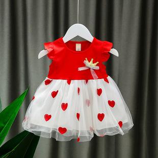 夏季新款2020女童连衣裙