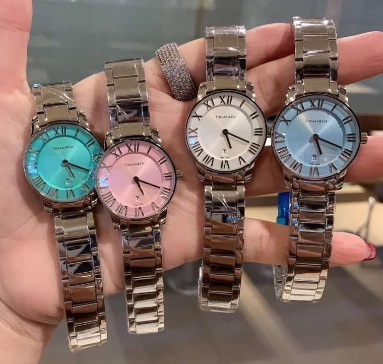 New female watch student lady watch Tiffany Tiffany 2hand 29atlas female watch quartz CT60